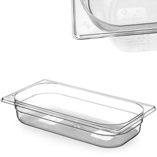 Pojemnik spożywczy z tritanu BPA free GN 1/3 wys. 65 mm - Hendi 869437