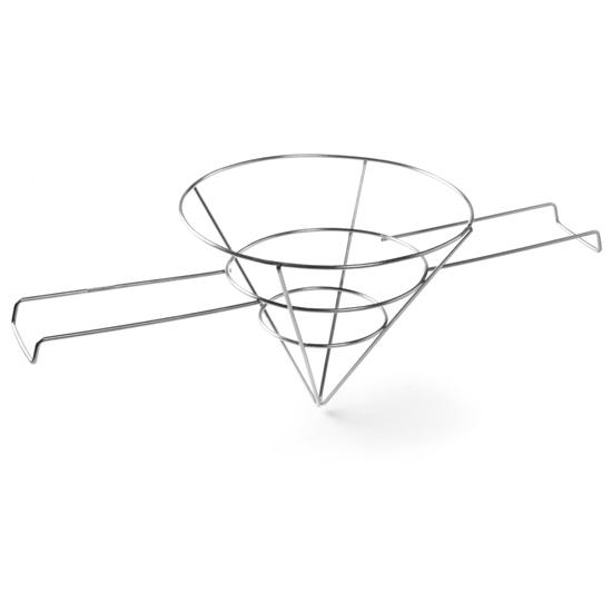Uchwyt ze stali nierdzewnej na filtr do frytury - Hendi 632901
