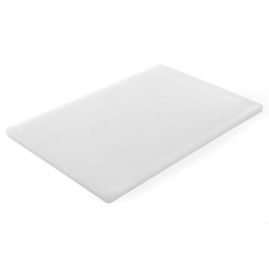 Deska do krojenia HACCP do nabiału 600x400mm biała - Hendi 825600