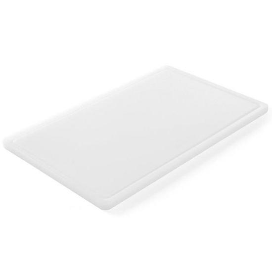 Deska do krojenia HACCP do nabiału GN 1/2 biała - Hendi 826102