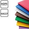 Deska do krojenia HACCP do drobiu GN 1/2 żółta - Hendi 826157