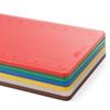 Deska do krojenia HACCP z miarką Perfect Cut czerwona - Hendi 826416