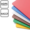 Deska do krojenia HACCP z miarką Perfect Cut brązowa - Hendi 826447