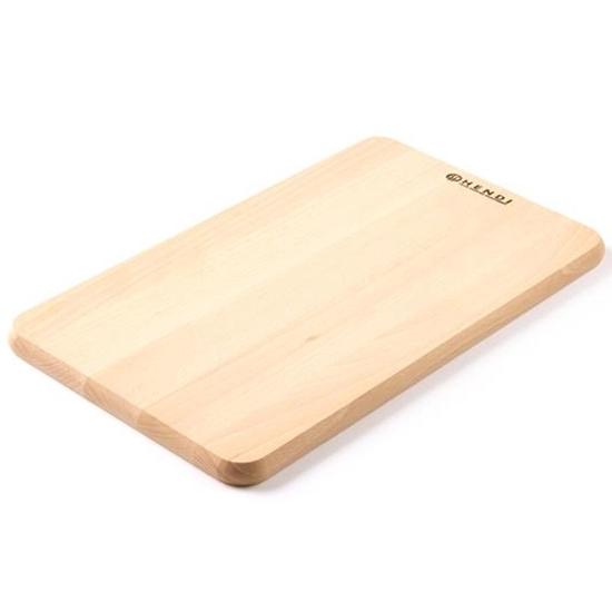 Drewniana deska do krojenia chleba z drewna bukowego - Hendi 505007