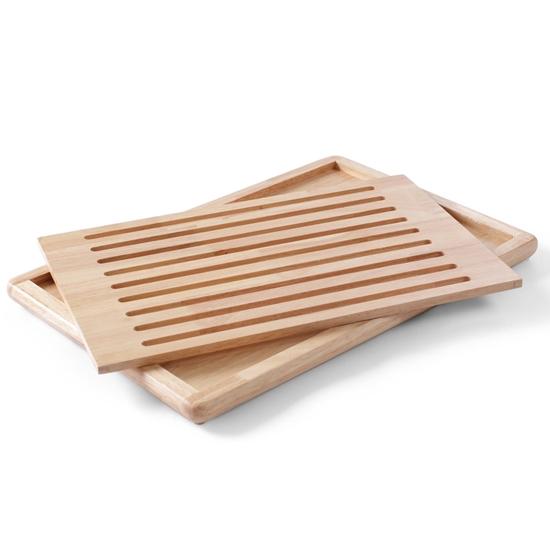 Deska do krojenia chleba z wyjmowaną kratką - Hendi 505502
