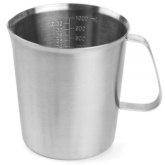Miarka do kuchni z podziałką ze stali nierdzewnej 0.5 l - Hendi 516102