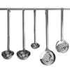 Łyżka cedzakowa HACCP ze stali Kitchen Line śr. 115 mm - Hendi 528204
