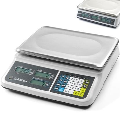 Waga CAS kalkulacyjna z możliwością legalizacji 15kg / 5g - CAS 580417