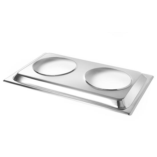 Adapter na 2 pojemniki do zupy do podgrzewacza stołowego - Hendi 470930