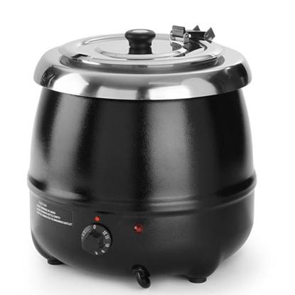Elektryczny kociołek do zupy Kitchen Line 8L - Hendi 860083