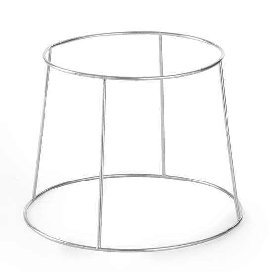 Podstawa ekspozycyjna do tac i półmisków stalowa - Hendi 480502