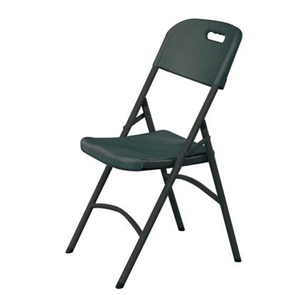 Krzesło cateringowe składane czarne do 180kg - Hendi 810989