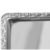 Taca stalowa prostokątna z rantem dekoracyjnym GN1/1 - Hendi 807804
