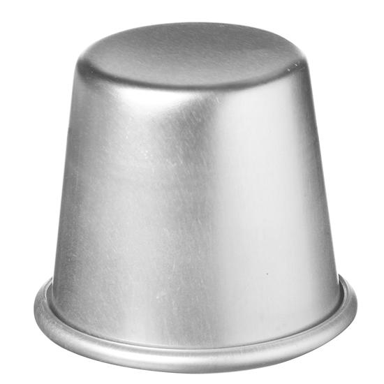 Foremka do babeczek z rantem aluminiowa śr. 7cm wys. 6.8cm - Hendi 689608