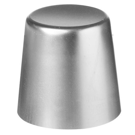 Foremka do babeczek gładka aluminiowa śr. 7cm wys. 6.8cm - Hendi 689806