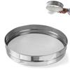 Sito piekarnicze gęste do przesiewania mąki śr. 407mm stalowe - Hendi 637838