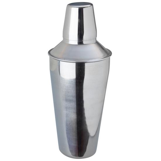 Shaker koktailer barmański do drinków i koktajli stalowy 0.75L - Hendi 593035