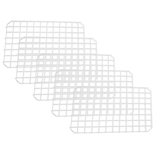 Kratka barowa do osuszania szklanek i kieliszków zestaw 5szt - Hendi 597958