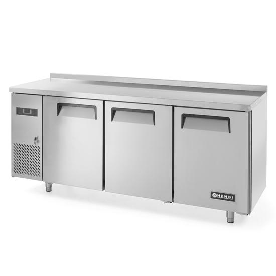 Stół chłodniczy Kitchen Line z blatem roboczym szer. 180cm -2/+8C - Hendi 233382