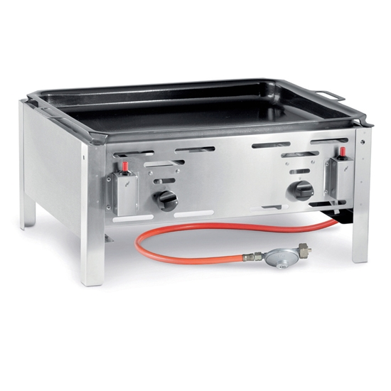 Patelnia gazowa Bake Master Maxi 590x480mm 11.6kW - Hendi 154618