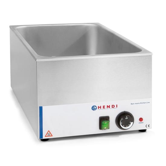 Bemar nastawny elektryczny wodny do GN1/1 150mm - Hendi 238905