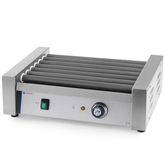 Roller grill podgrzewacz rolkowy do parówek 7 rolek 740W - Hendi 268506