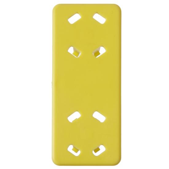 Klips kolorowy do kosza do zmywarki HACCP żółty - Hendi 877265