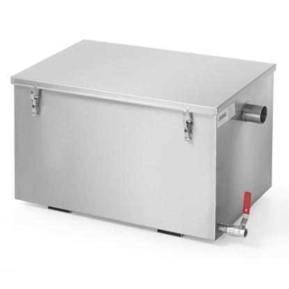 Separator do tłuszczu do kuchni zmywalni gastronomicznej 30L - Hendi 975718