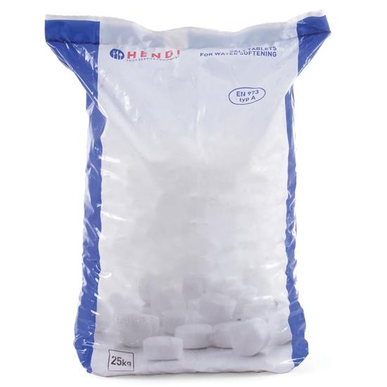 Sól tabletki solne NaCl do uzdatniacza odkamieniacza do wody 25Kg - Hendi 231265