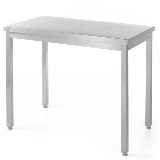 Stół blat roboczy do kuchni centralny stalowy 120x60cm - Hendi 811283