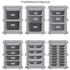 Pojemnik termoizolacyjny termos cateringowy EEP 8 x tace lub pojemniki GN1/1 100L - Hendi 707999