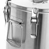 Pojemnik termiczny termos stalowy do transportu żywności 50L - Hendi 710319