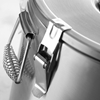 Pojemnik termiczny termos stalowy z kranem do transportu żywności 35L - Hendi 710326