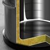 Pojemnik termiczny termos stalowy z kranem do transportu żywności 50L - Hendi 710333