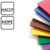 Deska kuchenna do krojenia HACCP HDPE dla alergików 45x30cm fioletowa - Hendi 825570