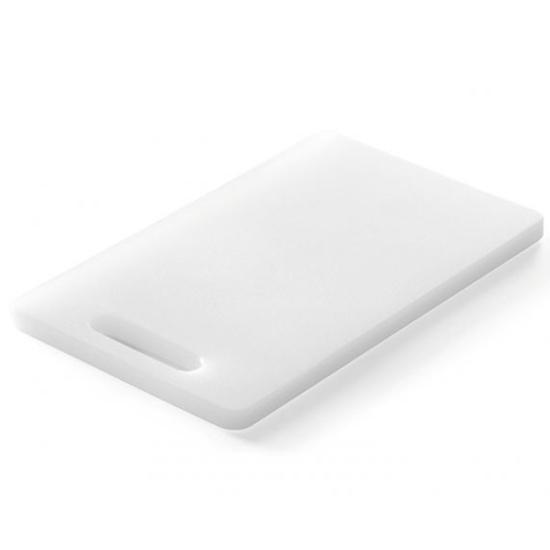 Deska kuchenna do krojenia i siekania z uchwytem HDPE 30x20cm - Hendi 826355