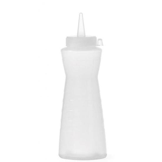 Dyspenser dozownik do sosów zimnych Easy Squeeze 200ml przeźroczysty - Hendi 558324