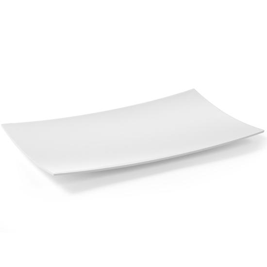 Półmisek bufetowy dekoracyjny patera z melaminy GN1/2 biały - Hendi 561676