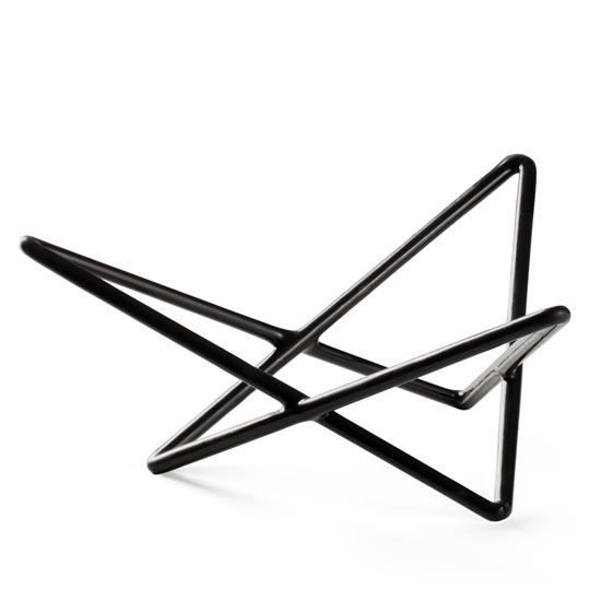 Stojak bufetowy dekoracyjny do misek do prezentacji trójkąty wys. 100mm - Hendi 561966