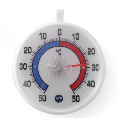 Termometr do mroźni zamrażarki i lodówki z zawieszką -50C do +50C - Hendi 271124