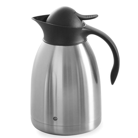 Termos dzbanek termiczny do kawy stalowy podwójne ścianki 1.5L - Hendi 446607