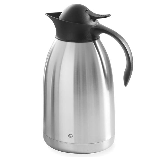 Termos dzbanek termiczny do kawy stalowy podwójne ścianki 2L - Hendi 446706