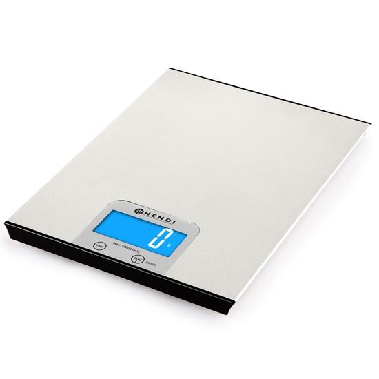 Waga elektroniczna kuchenna gastronomiczna dokładna 5000g / 1g - Hendi 580226