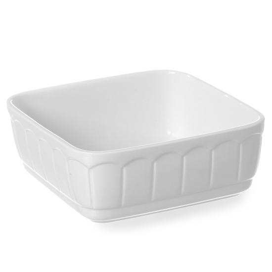 Naczynie do zapiekania kwadratowe z porcelany RUSTICA 165x165x70mm - Hendi 786352