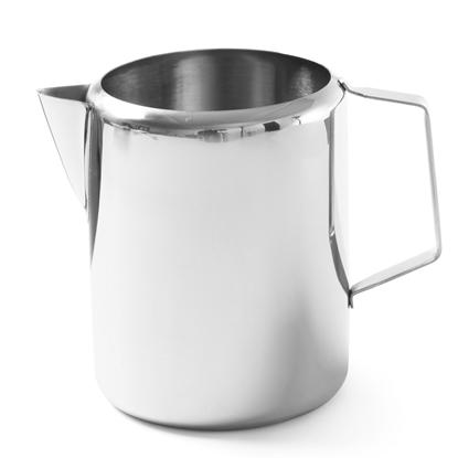 Dzbanek kubek do mleka kawy herbaty stalowy nierdzewny 0.75L - Hendi 451106