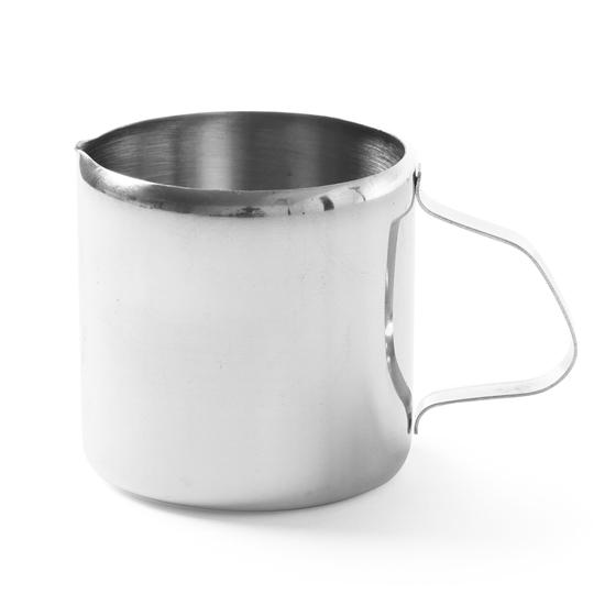 Dzbanek kubek do śmietanki mleka do kawy stalowy nierdzewny 350ml - Hendi 450505