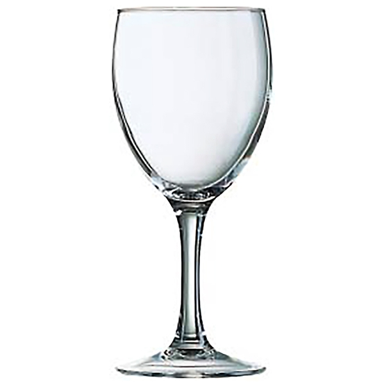 Kieliszek do wina Arcoroc PRINCESA szkło hartowane 230ml zestaw 6szt. - Hendi J4159