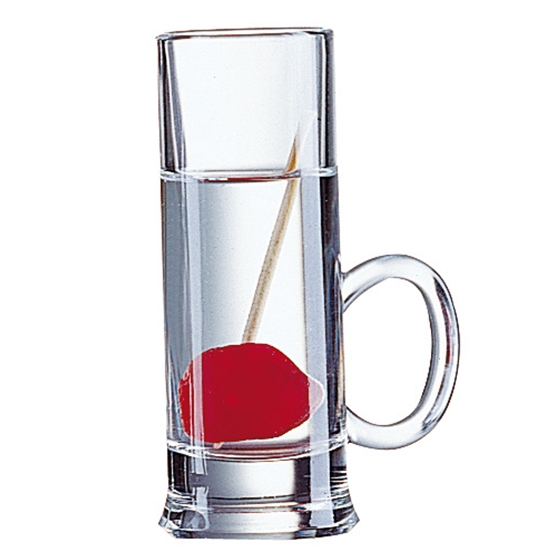 Kieliszek do wódki z uchwytem Arcoroc ISLANDE szkło hartowane 55ml zestaw 12szt. - Hendi 72388