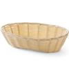 Koszyk na pieczywo z polirattanu owalny 225x130x55mm - Hendi 426500