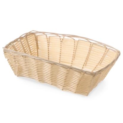 Koszyk na pieczywo z polirattanu prostokątny 225x150x65mm - Hendi 426807